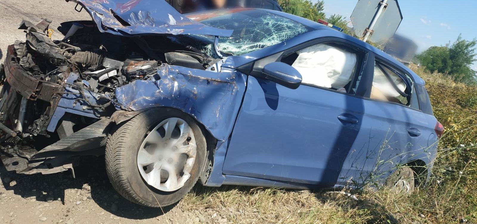 Accident la Brătești cu o victimă