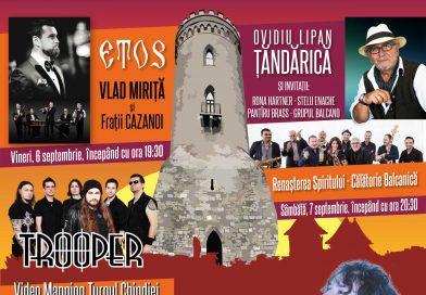 PROGRAM ZILELE CETĂȚII, SEPTEMBRIE 2019