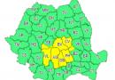 Astăzi: Cod galben de ploi torențiale pentru șase județe, inclusiv Dâmbovița