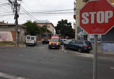 Târgoviște:Accidente auto în cascadă