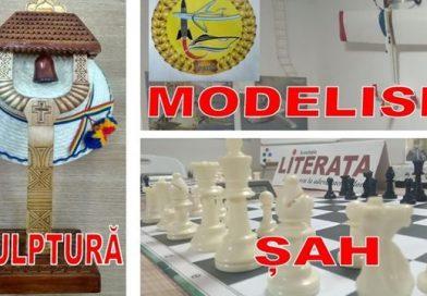 TÂRGOVIȘTE: Cursuri gratuite de modelism, șah și sculptură. Vezi detalii
