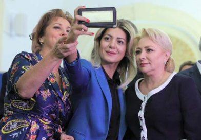 Carmen Holban, la depunerea listelor de semnături pentru candidatura premierului Viorica Dăncilă la prezidențiale