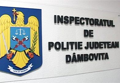 Acţiuni de amploare ale poliţiştilor Dâmboviţeni