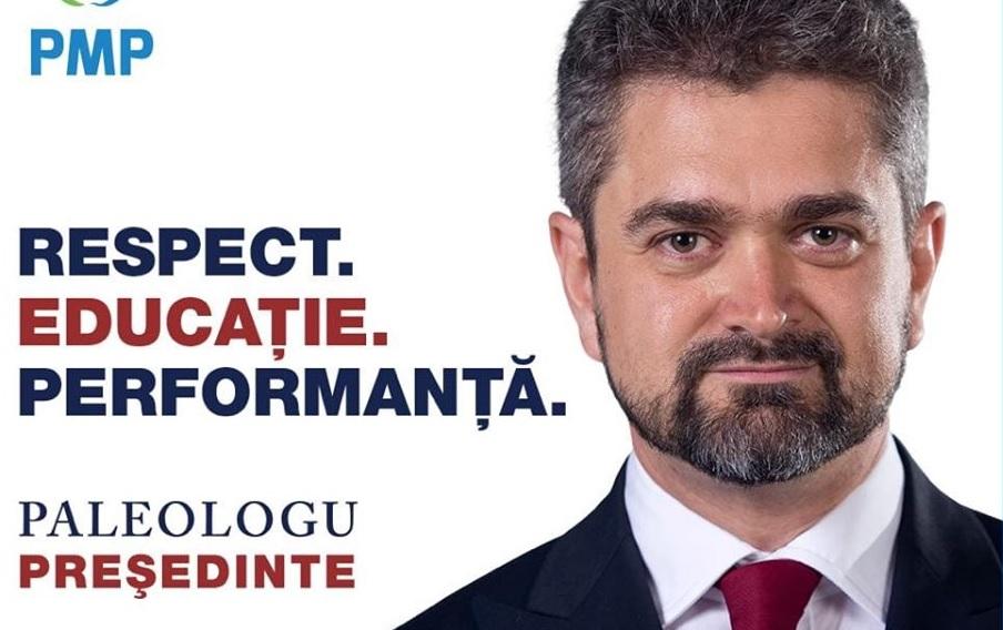 """PMP Dâmbovița: """"Candidatura lui Paleologu este un act de respect față de români"""""""