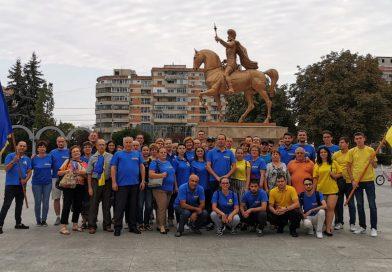 Peste 12000 de târgovișteni au semnat pentru al doilea mandat al lui Klaus Iohannis