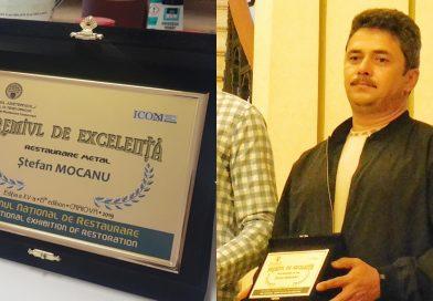 Premiu de Excelență pentru restauratorii dâmbovițeni, la Salonul Internațional de Restaurare de la Craiova-2019