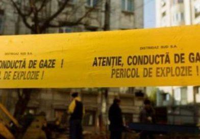 MORENI: Alimentarea cu gaze oprită după ce un TIR a lovit o conductă