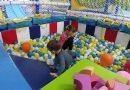 Locul de joacă de la Ristorante San Marco, accesibil gratuit pentru copiii clienților