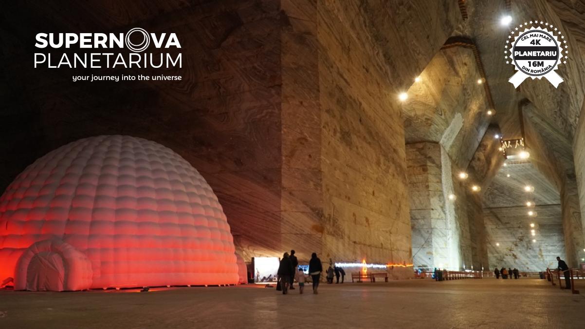 Eveniment în premieră mondială la SUPERNOVA Planetarium din Salina Slănic Prahova