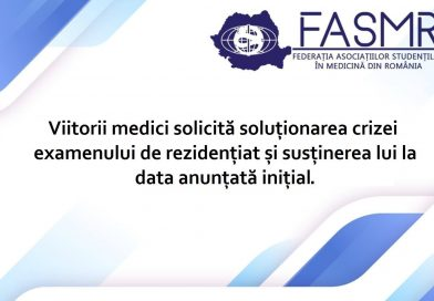 Viitorii medici solicită soluționarea crizei examenului de rezidențiat și susținerea lui la data anunțată inițial