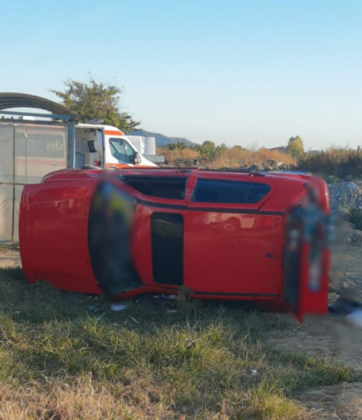 Cinci victime în urma coliziunii între două mașini