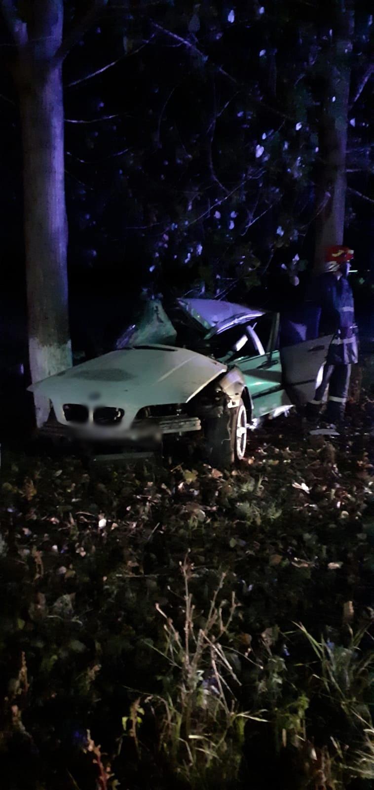 Accident rutier cu o victimă în Crângurile