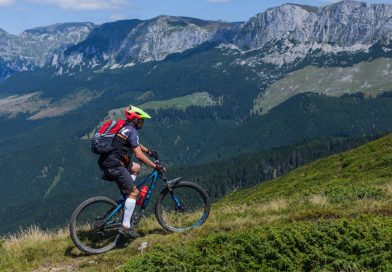 Dichiu: Biciclist montan, în comă