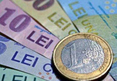 Euro a ajuns la cel mai mare nivel din ultimele 5 luni