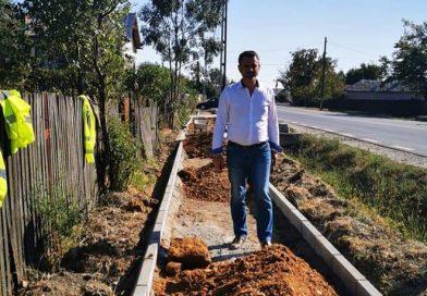Primarul  comunei Dragodana a semnat contractul de gaze naturale