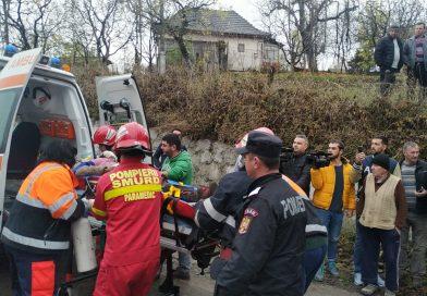 Femeia străvită de lemne, la Moțăieni, a murit