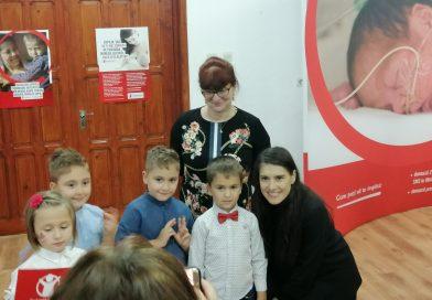 Sorana Cîrstea, donație pentru copiii născuți prematur din Dâmbovița