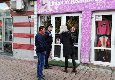 Val de spargeri, noaptea trecută, în Târgoviște. Aproximativ 20 de magazine au fost vizate