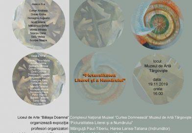 """Elevii de la Bălașa Doamna își prezintă lucrările în cadrul expoziției """"Picturalitatea Literei și a Numărului"""""""