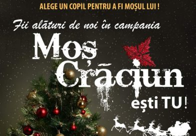 """ULMI: Campanie civică – """"Moș Crăciun ești tu!"""""""