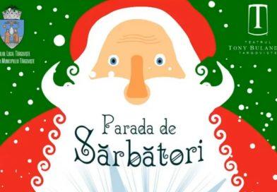 TÂRGOVIȘTE: Moș Crăciun ajunge în oraș pe  13 decembrie