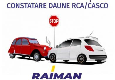 Centrul de avizare și constatare daune RCA/CASCO – RAIMAN! Soluția în caz de incident auto