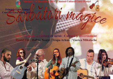 GURA OCNIȚEI: Spectacol cu intrare liberă pentru iubitorii de colinde și muzică folk