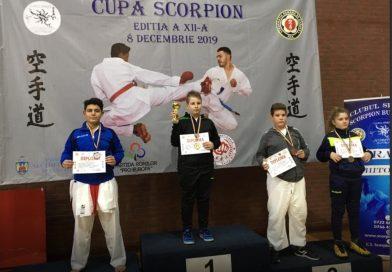 KARATE: CS Târgoviște vine cu 5 medalii de la Cupa Scorpion!