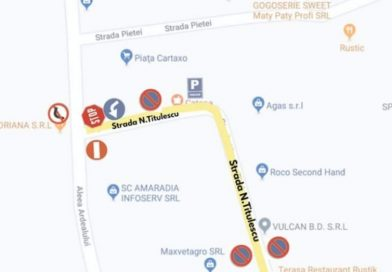 PUCIOASA: Sens de mers inversat pe o stradă din zona Pieței