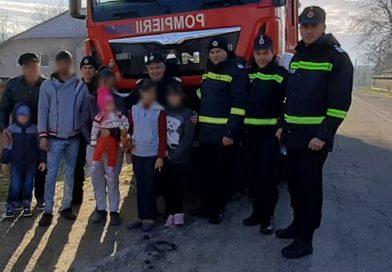 Acțiune umanitară a pompierilor de la Garda de Intervenție Voinești