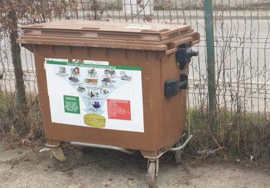 PUCIOASA: Au fost amplasate containerele pentru colectarea selectivă