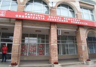 Lista candidaților pentru funcțiile de conducere în PSD Dâmbovița
