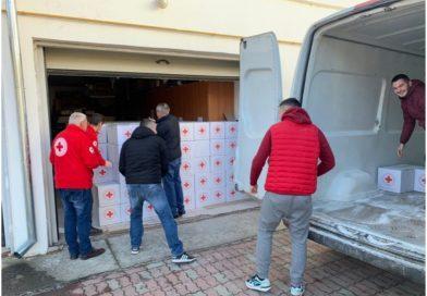 Crucea Roșie Dâmbovița  oferă, în preajma  sărbătorilor, spectacole și cadouri pentru persoanele nevoiașe