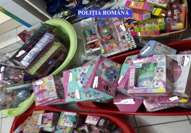 Peste 22.000 de jucării și produse pentru copii au fost indisponibilizate de polițiști
