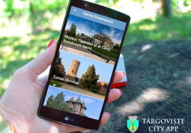Primăria Târgoviște a lansat un ghid digital interactiv – Târgoviște City App