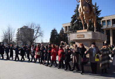 FOTO și VIDEO: Manifestări, prilejuite de 161 de ani de la Mica Unire, desășurate la Târgoviște