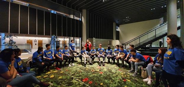 """24 de elevi de la """"Voievodul Mircea"""" au câștigat Euroscola și au fost invitați la Strasbourg"""