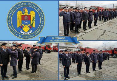 Avansări în grad la ISU Dâmboviţa cu prilejul Zilei Protecției Civile