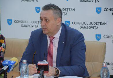 DÂMBOVIȚA Covid-19: Alexandru Oprea, președintele CJD, mulțumiri publice pentru cei care au ajutat spitalele din județ