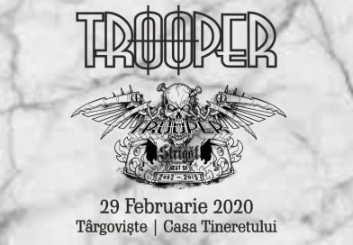 "Trooper  pregătește la Târgoviște ""Strigăt: Best of 2002 – 2019"""