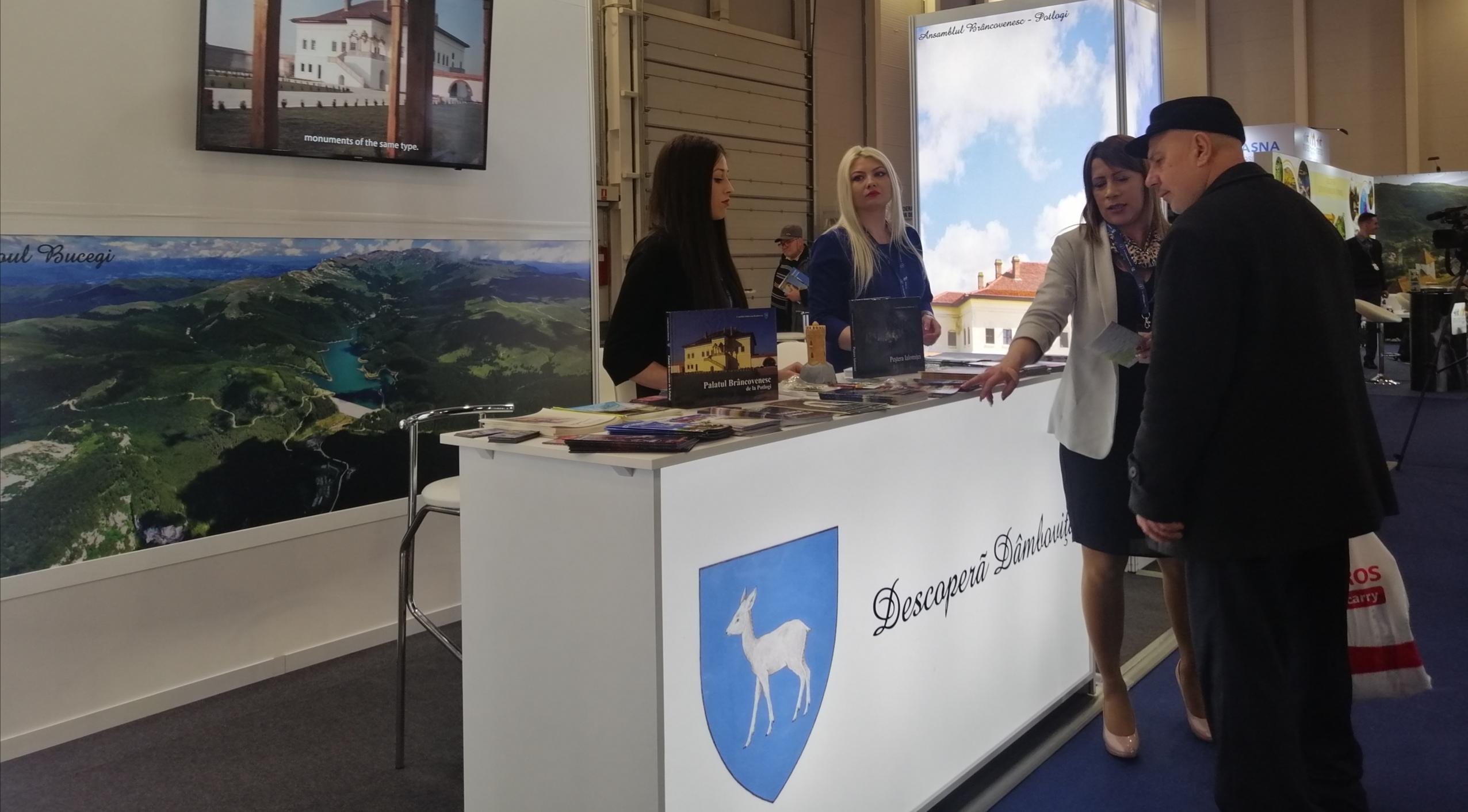 A început Târgul de Turism al României, ediția de primăvară. Dâmbovița își promovează principalele puncte de atracție