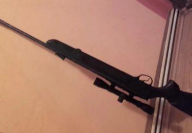 Armă confiscată la Uliești