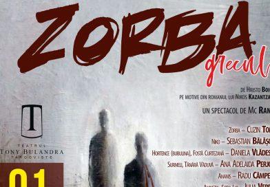 """""""Zorba Grecul"""" , mărțișorul teatral oferit de Teatrul Tony Bulandra"""