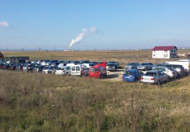 RÂNCACIOV: Un vânzător de piese auto second hand amendat de Garda de Mediu