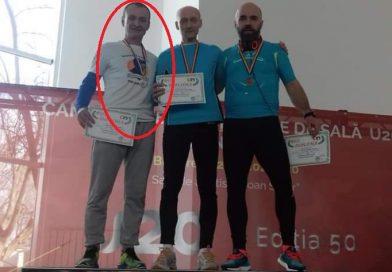 ATLETISM: Găeșteanul Victor Florin Bratu – campion și vicecampion național! Plus, record național