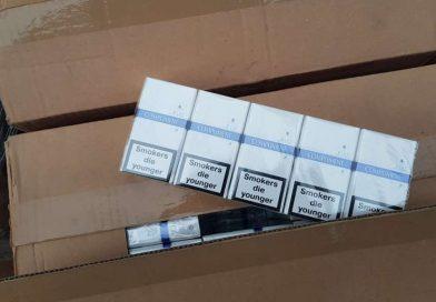 TÂRGOVIȘTE: Peste 800 de pachete de țigări au fost confiscate de polițiști