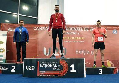 ATLETISM: Jandarmul Timofte Ionuț pe podium la Campionatul Național de Sală – Masters