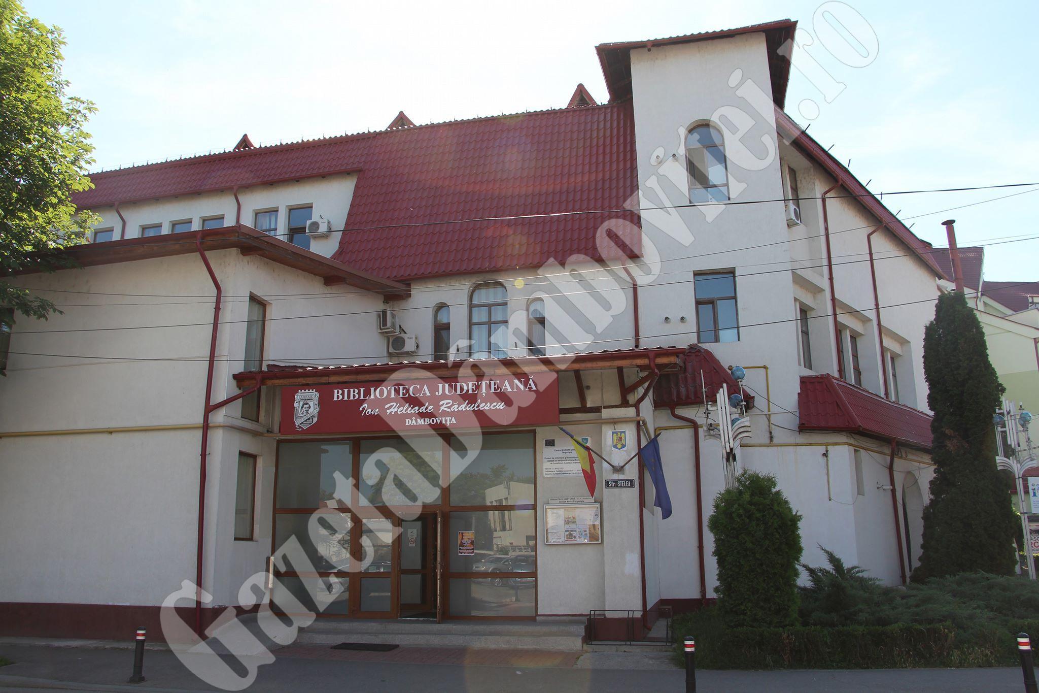 Biblioteca Județeană Dâmbovița deschide pentru public sălile de lectură la sediul central și la sediul Filialei pentru Copii