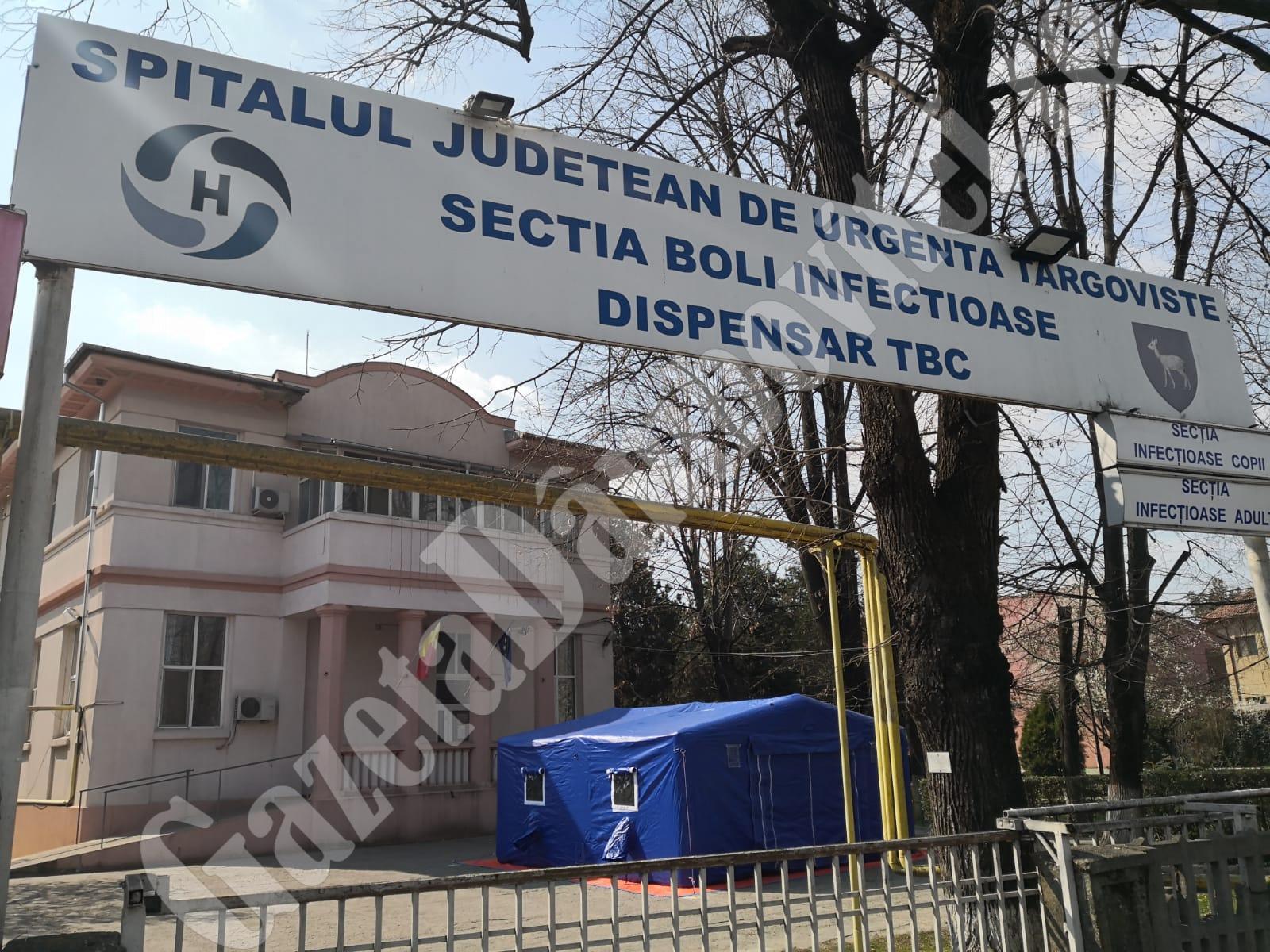 Testul făcut în cazul viceprimarul Moreniului, în spitalul județean, negativ. Va fi reluat conform procedurii