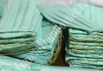 PUCIOASA Covid-19: Locuitorii vor primi măști textile donate de un producător local
